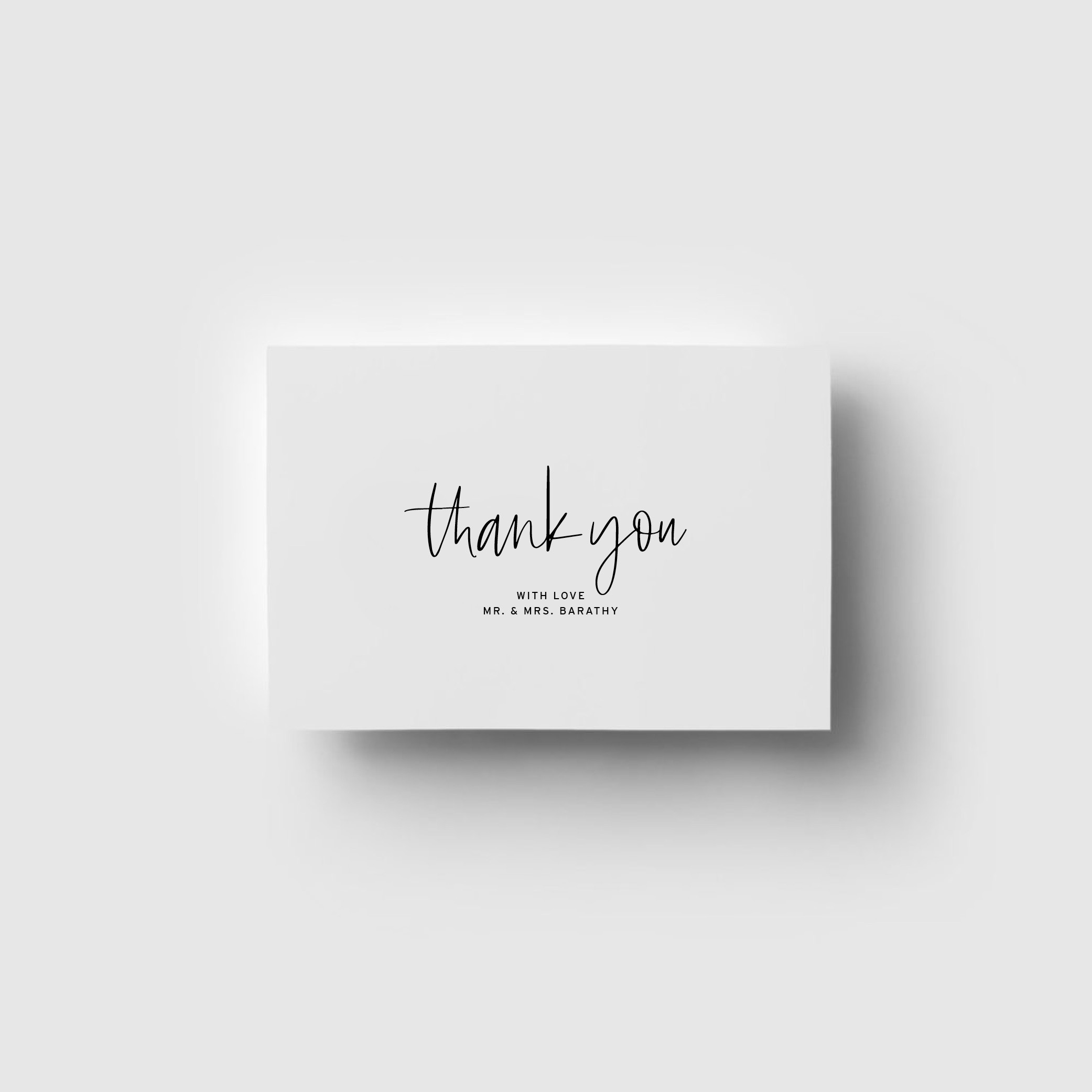 THANK YOU CARDS | Love Letters
