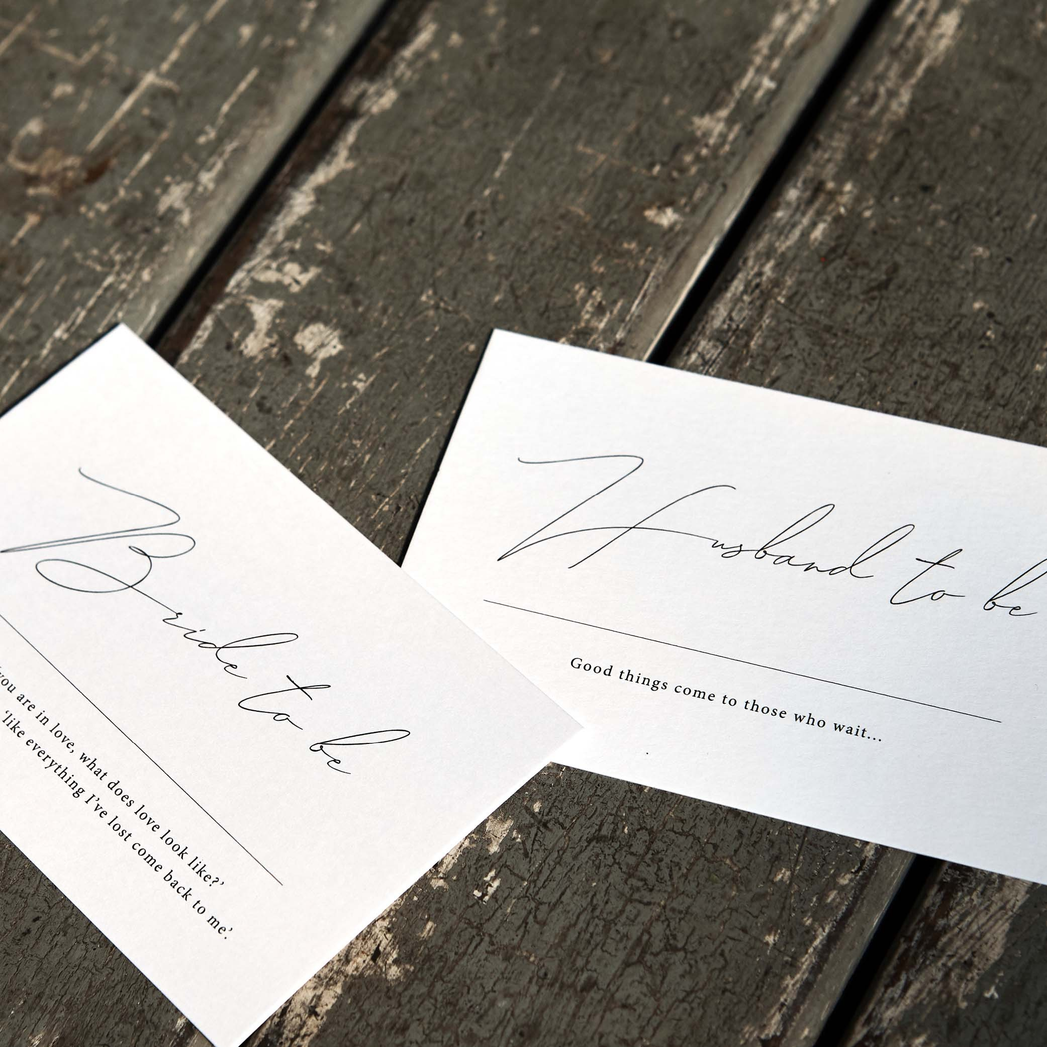 - PLACE CARDS | Flat Lay