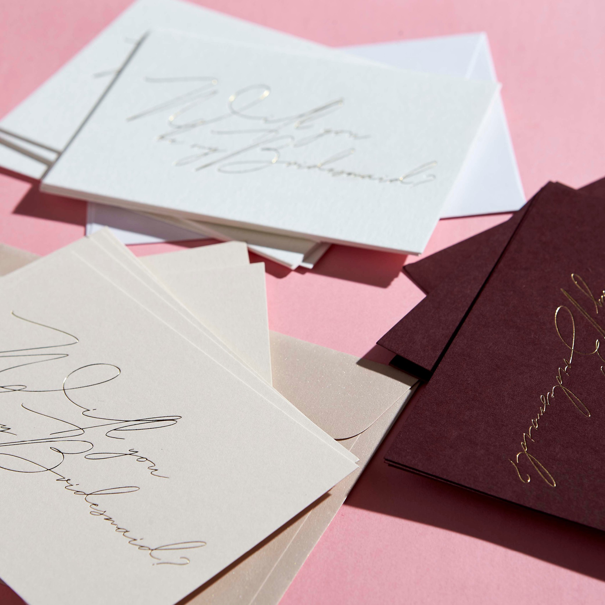 Bridesmaid Cards - BRIDESMAID CARDS