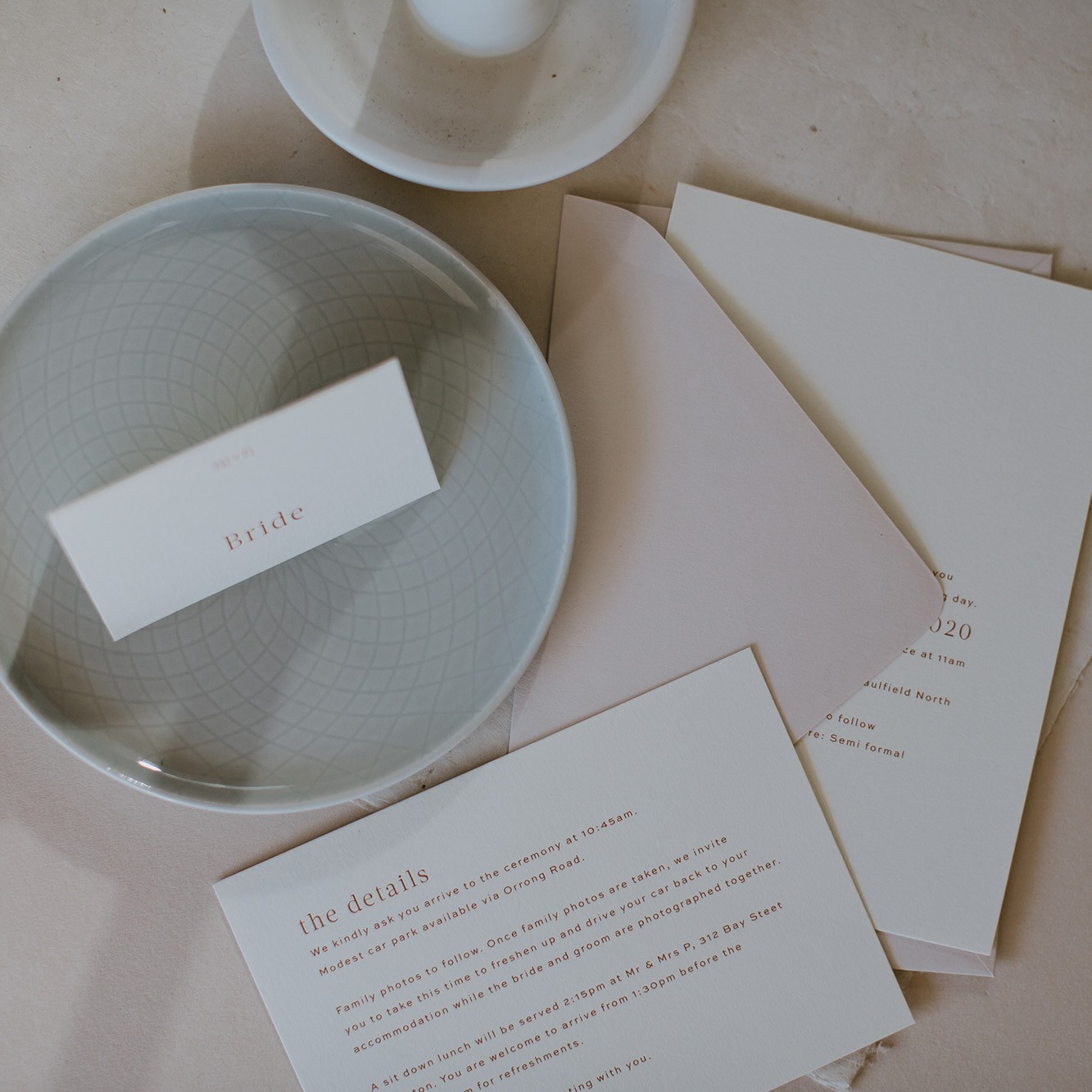 LOVE LETTERS COLLECTION | Millie + Nick