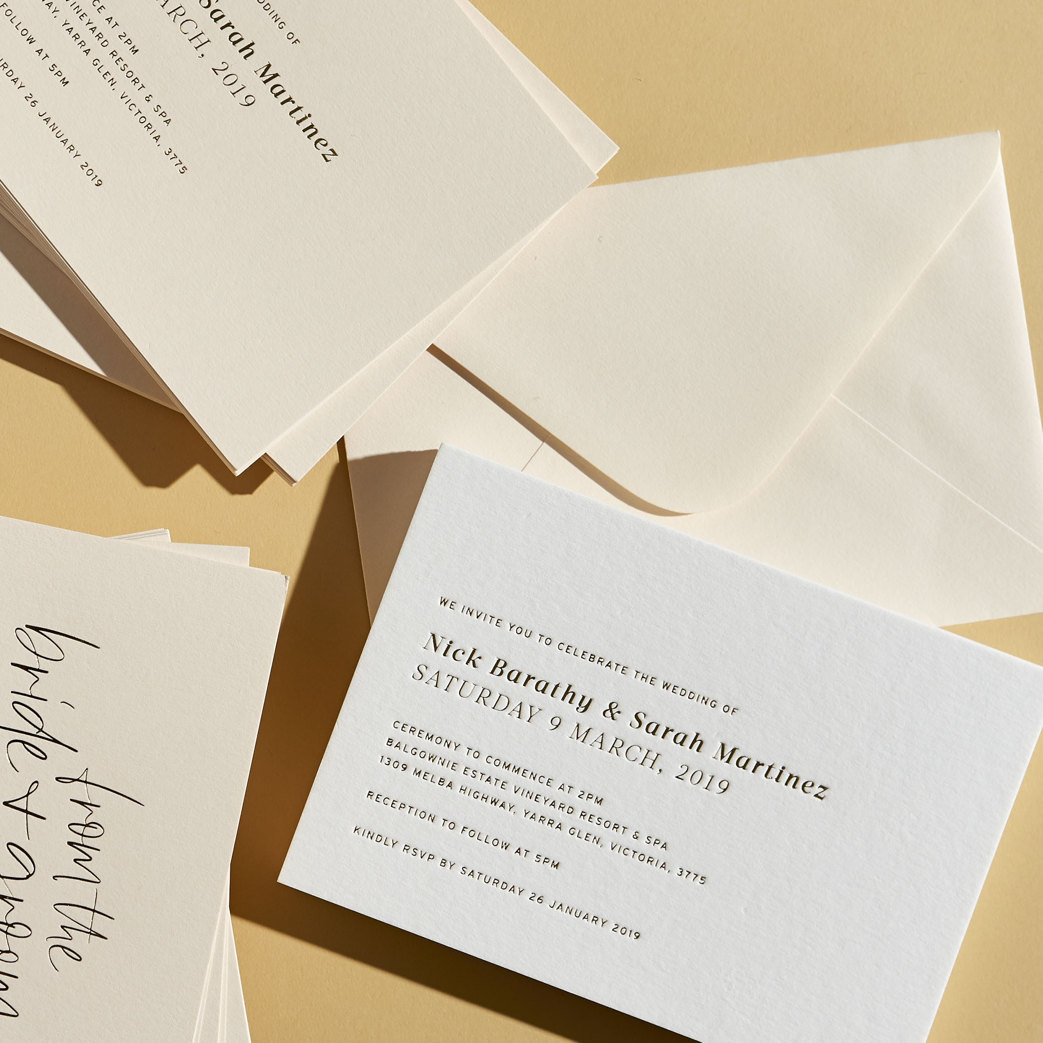 Wedding Invitations - LOVE LETTERS COLLECTION | The OG